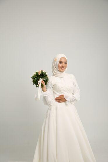 плов на заказ in Кыргызстан | ГОТОВЫЕ БЛЮДА, КУЛИНАРИЯ: Продаётся красивое, закрытое свадебное платье. В Бишкеке такого платья