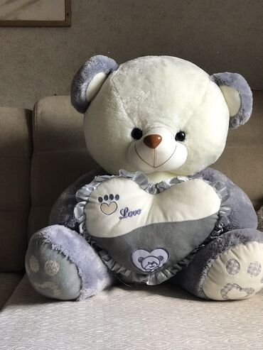 Игрушки - Лебединовка: Большая Мягкая игрушка медведь