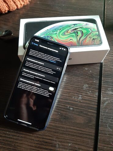 защитное стекло на мейзу м5 в Кыргызстан: Новый iPhone Xs Max 256 ГБ Черный