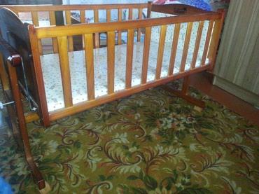 Продаю детскую кроватку-люльку. размеры 110х59 см в Бишкек