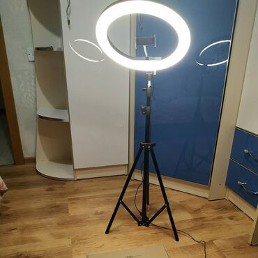 иссык куль чок тал пансионаты в Кыргызстан: Кольцевая лампа.Селфи лампа.Есть всех размеров26 см, 33 см, 36 см По