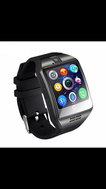 Смарт часы smartwatch q18 отличаются от аналогов большим изогнутым дис в Бишкек
