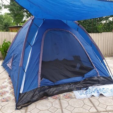 Палатка 230х200, высота 140 см. 3-4 местная. Полиэстер, ткань пола -