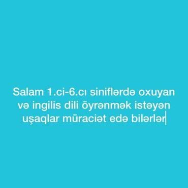 İş - Azərbaycan: Sumqayıt şəhərində 1ci sinifdən 6cı sinifə qədər olan şagirdlərə