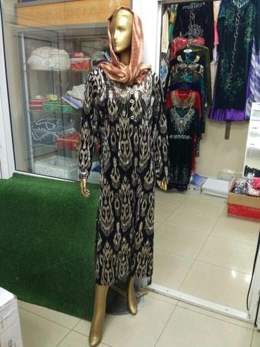 Платье с национальным рисунком в в Токмак
