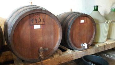 Domaće vino Vranac i Liparka i domaća rakija - Pozarevac