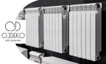 Seksia radiatorlar 7.5 azn; 8.5 azn; 9azn; 10azn; 11aznMerkezi 50sm
