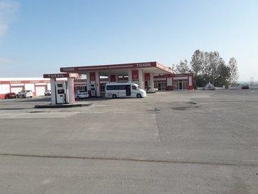 Daşınmaz əmlak Şəmkirda: ZAPRAVKA satılır-YDM  Bakı-Qazax yolu 374-cü km  Şəmkır ray