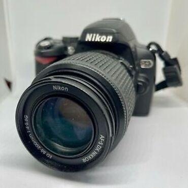 4006 объявлений: NIKON D60 50-200 мм фотоаппарат с очень маленьким пробегом всего