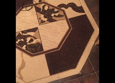 Ковер восьмигранной формы размер 160 см х 160 см в Бишкек