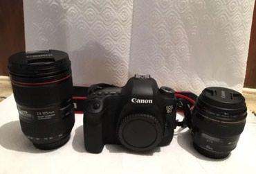 Canon EOS 6d+canon Lens EF 24-105 II Usm ela veziyyetde hec bir в Qusar