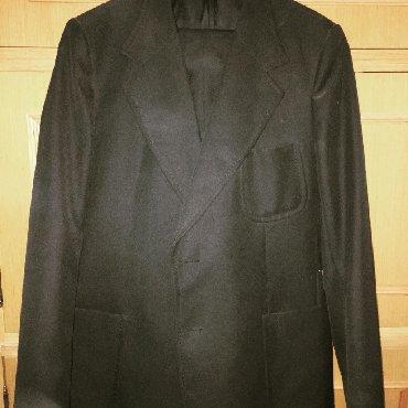 Muška odeća   Zajecar: Muški crni klasični sako. Vel. 54