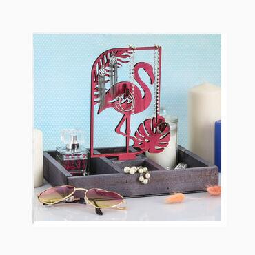 Органайзер для хранения «Фламинго и монстера».Каждая девушка