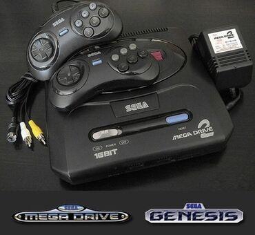 джойстик sega для pc в Кыргызстан: Sega Mega Drive 2Новые! Запечатанные!Акция 50%✓!→доставка по городу