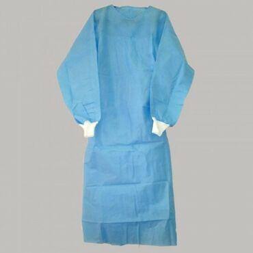 чехол для одежды в Кыргызстан: Продаю оптом Халаты медицинские одноразовые - обычные, хирургические