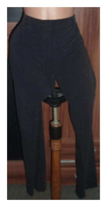 Elegantne pantalone - Srbija: DOROTHY PERKIN CRNE ELEGANTNE PANTALONE VEL 42struk 46cmbokovi