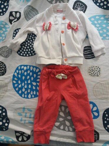 Ostala dečija odeća | Kursumlija: Ready komplet i waikiki bluzica za bebu od 9 do 12 meseci velicina 74
