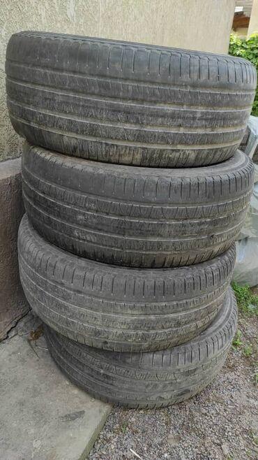Продаю титан диски с шинами. комплект летних и комплект зимних. стояли