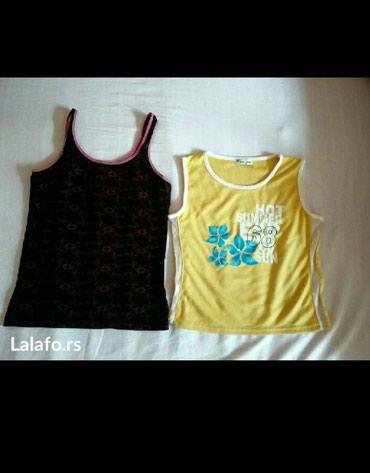 Dve majice. Pojedinacno cena crna 150 žuta 200 - Belgrade