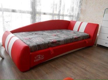 """Кровать """"Super car"""" размер матраса 190/90см .  в Бишкек"""