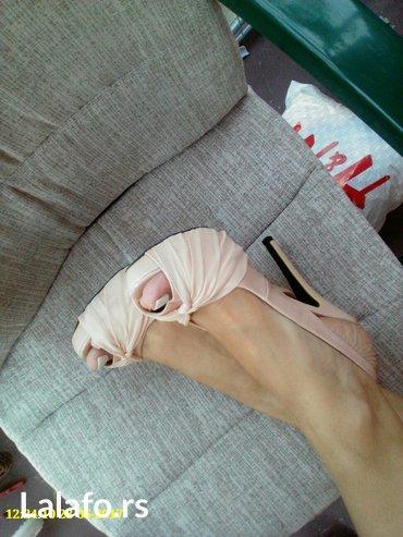 Sandale 39 broj ,jednom obuvene - Sremska Kamenica