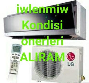 Her nov Kondisionerleri Aliram baha qiymete ozumuz gelib gotururuk. в Bakı