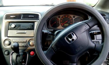 Хонда  Хонда Стрим, минивэн, 7 мест, 2003 год, серебро, 2.0 объем. 1 в в Бишкек