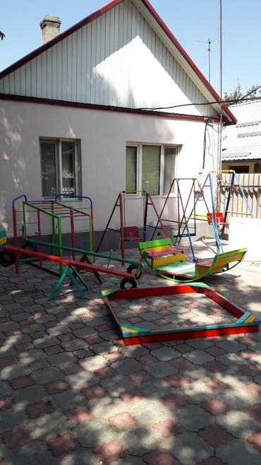 скамейки качалки в Кыргызстан: Качели.ПРОДАЁМ:Качели разборные, песочницы, турники, балансиры