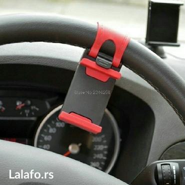 Univerzalni drzac telefona na volanu vozila. Obziran i praktičan,  - Kragujevac - slika 8