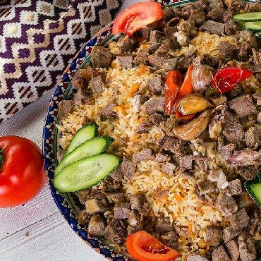 Другие продукты питания - Кыргызстан: Бишкек шаарында заказ менен Уйунуздорго барып плов басып беребиз. ба