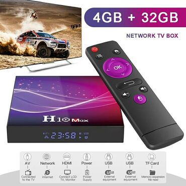 smart tv box - Azərbaycan: Android smart tv box Model Original H10 MAX Android smart tv box