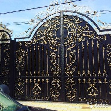 Покраска ворот! варота перекрасим! в Бишкек