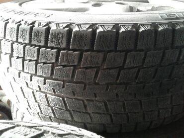 шины 205 55 r16 в Кыргызстан: Продам не спеша комлект зимних шин на дисках в хорошем состоянии