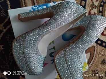 Туфли 33 размер почти новые одевали один раз на свадьбу в подарок 2