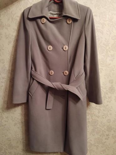 """Пальто чистый кашемир """"kent"""".  В хорошем состоянии.  размер 48-50.  в Бишкек"""
