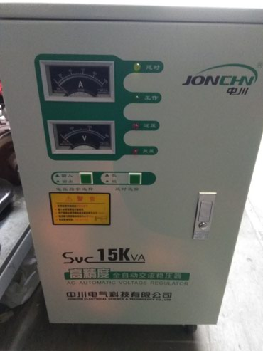 Продаю стабилизатор фирмы JONCHIN 15KW в Бишкек