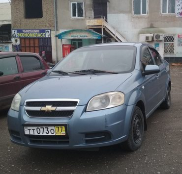 Chevrolet Aveo 2007 в Кызыл-Кия