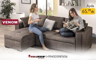 2192 elan | DIVANLAR: Künc divan VENOM kreditlə | MEBELMAN+Salon üçün ən rahat mebel hansı