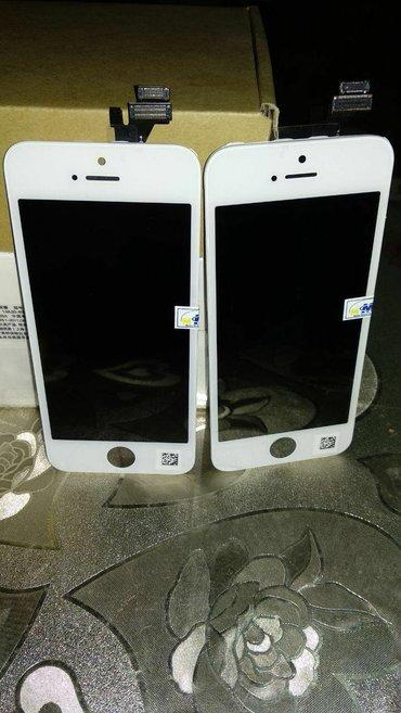 Bakı şəhərində Aaaaa+ iphone 5 ekranlari 5. 5s. 6. 6s ekranlari movcuddur.. Qiymeti