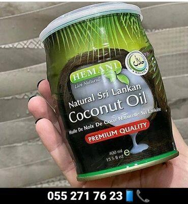 bir tankda istifadə edilən mebel - Azərbaycan: Hemani 400ml100% orginal Cocos yağı- bütün dünyada istifadə olunan