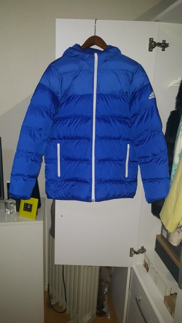 Original adidas unisex perjana jakna, velicina xl, jednom obucena. - Sremska Mitrovica