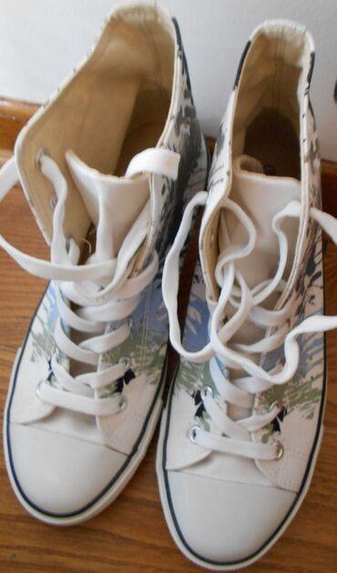 Zenska obuca - Srbija: Patike duboke zenske 39 broj Graceland, jednom obuvene, prakticno nove