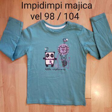Majica goa - Srbija: Nove 3 majice IMPIDIMPI vel 98/104. Cena je po komadu. Kupljene u Ital