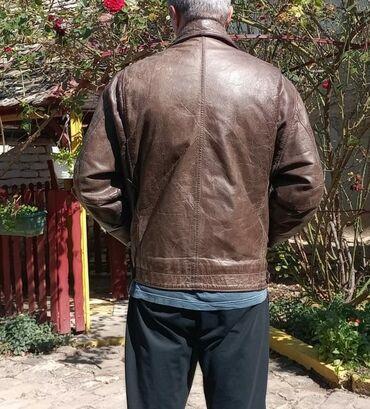 Kožna jakna, odlično stanje, malo nošena