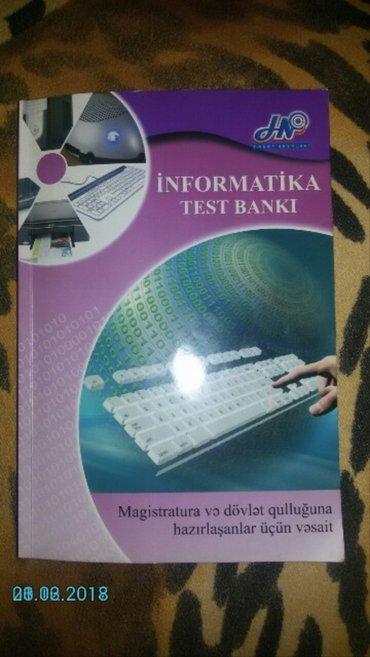 Bakı şəhərində Informatika testi
