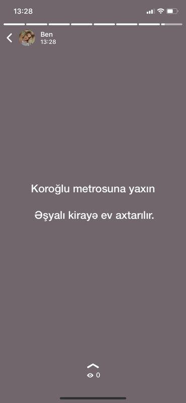 kiraye obyektler 2018 в Азербайджан: Koroğlu metrosu terefde kiraye ev axtarılır. 2otaqlı. İçi eşyalı