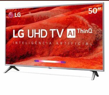 - Azərbaycan: Televizor LG 50dyum,125ekran,4k uhd 1020AZN. Ideal vezyetde,yeni