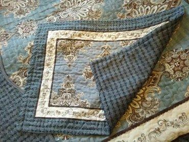 жаккардовые наволочки в Кыргызстан: Покрывало с наволочкой на добавочную подушку полуторка