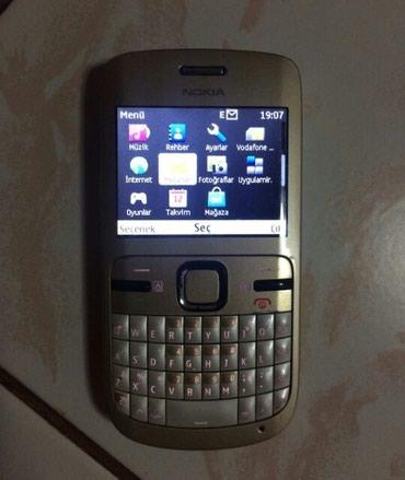 Sumqayıt şəhərində Nokia c3 40 manata  tecili satilir hec bir problemi yoxdur rial