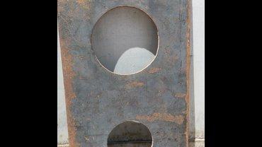 Продаю новую стальную печную в Бишкек